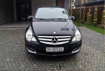 Автомобіль Mercedes Benz R500, легковий седан, чорний, держ.номер BН5873ВА, 2006 р.в., номер кузова 4JGCB75E46A030427, об'єм двигуна 4966, інв.номер 663