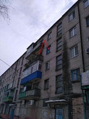 Двокімнатна квартира загальною площею 47,6 кв.м, житловою –  29,8 кв.м,  що знаходиться в м. Слов`янськ, вул. Дарвіна, буд. 14, кв.35; РНОНМ 697214514141