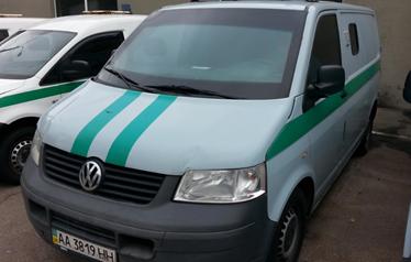 Автомобіль фургон малотонажний-В Volkswagen Transporter, 2008р., о/д. 2.5,  н/к WV1ZZZ7HZ8H122894, н/д реєс. АА3819НН, Автошини у кільк.-2шт, Автошини у кільк.-2 шт., Пальне-дизель в Volkswagen Transporter  (АА3819НН), 26.46л.