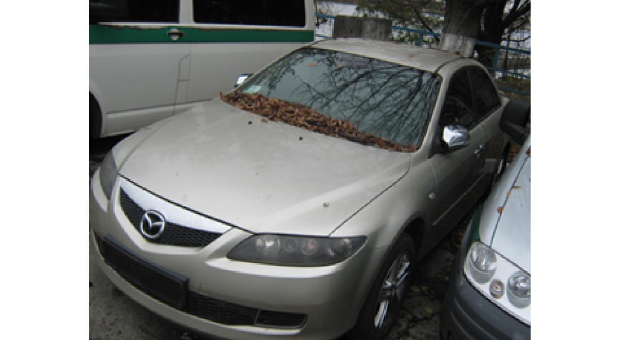 Автомобіль Mazda 6, номер державної реєстрації АР8848СЕ, рік випуску 2007, об'єм двигуна 2,0, номер кузова JM7GG32F071550600, тип пального бензин. Основні засоби у кількості 13 шт