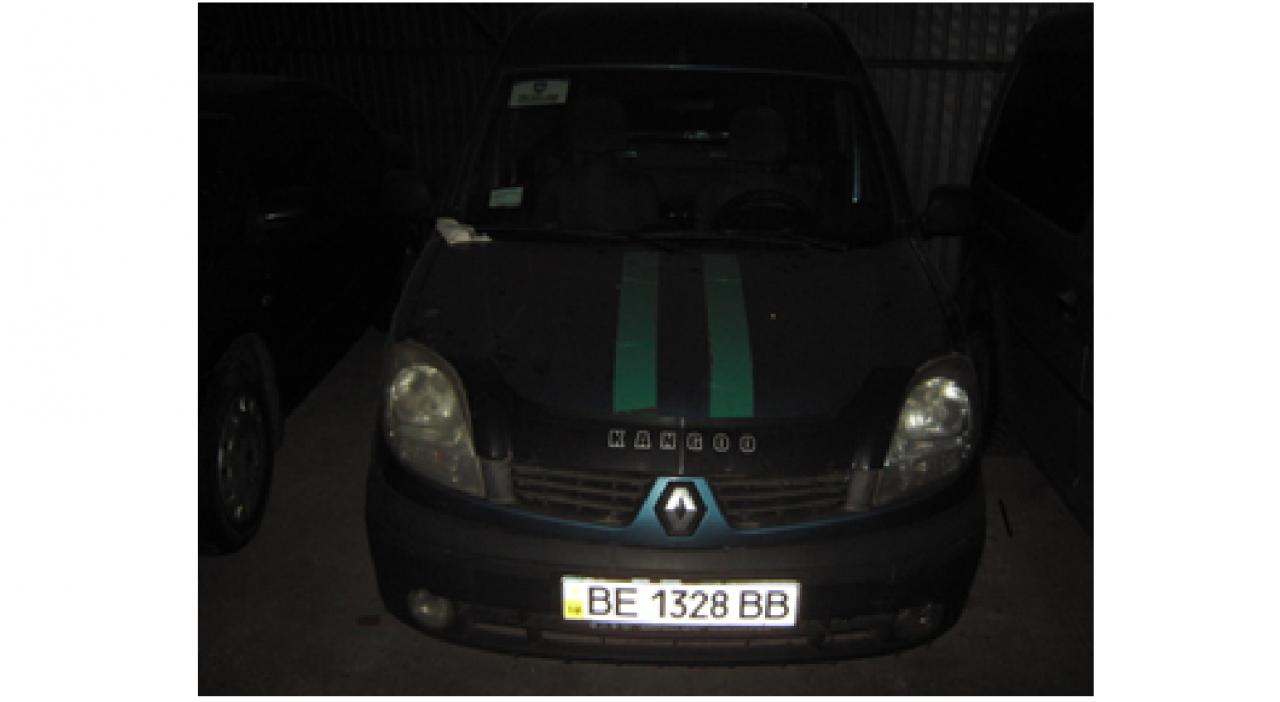 """Автомобіль Renault Kangoo, державний номер  ВЕ1328ВВ, рік випуску 2007, об'єм двигуна 1,4, номер кузова VF1KC0MCF37917749, тип пального бензин. відеореєстратор Gaser H515 Gaser магнітола Система контролю транспорту """"Глобус"""" Основні засоби у кількості 7 шт"""