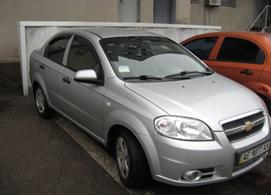Легковий автомобіль CHEVROLET AVEO, рік випуску 2011, номер шасі, кузова KL1SF69YEBB195148, номер державної реєстрації АЕ9077АХ