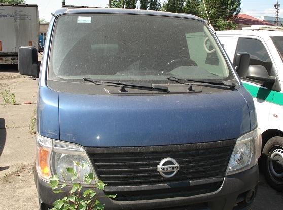 Мікроавтобус пасажирський NISSAN URVAN, рік випуску 2007, номер кузова, шасі JN6GE54S77X420927, державний номер АА3775ТС та основні засоби у кількості 17 шт.