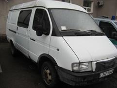Автомобіль ГАЗ 2705, рік випуску 2001, номер шасі, кузова 270500Y0057986, номер державної реєстрації 34294АВ