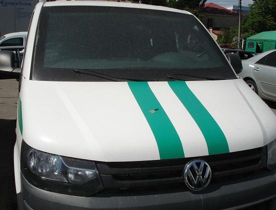 Вантажний малотоннажний інкасаційний автомобіль VOLKSWAGEN TRANSPORTER, рік випуску 2010, номер кузова, шасі WV1ZZZ7HZAH265063, державний номер АА0786КА та основін засоби у кількості 2 шт.