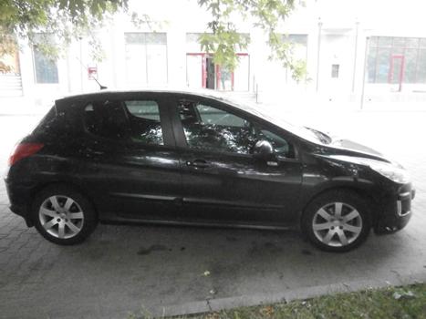 Автомобіль легковий комбі-В, марка Peugeot 308, 2008р.в., об'єм двигуна 1,6 колір чорний, номер кузова  VF34C5FWC55138188, номер державної реєстрації АА9382МО; шини 205/60 R16 92T KW22 TL Kumho (Ndr_1_pe_61455), 4 шини