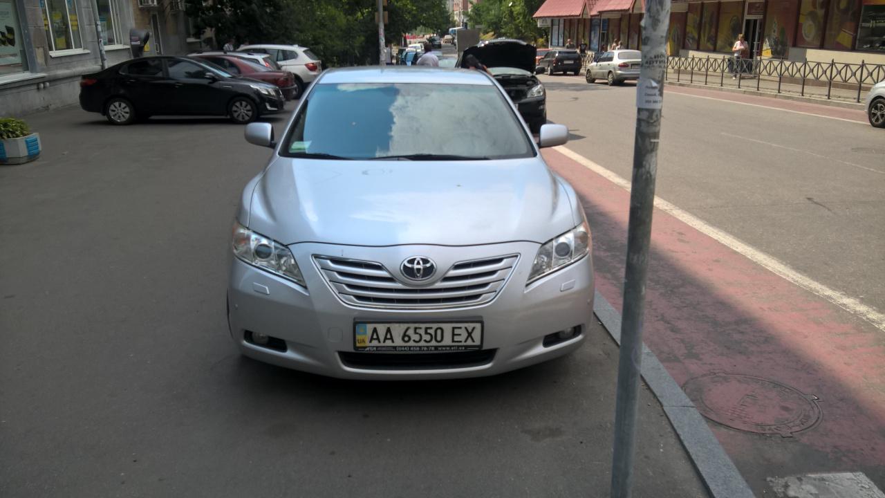 Легковий автомобіль Toyota Camry, 2007 року, номер кузова №JTNBK40K503033503; номер державної реєстрації - АА6550ЕХ; об'єм 3,5; колір – сірий; пробіг – 268490 км; місцезнаходження - м. Київ
